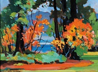 untitled - stanley park by mildred valley thornton