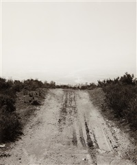 firebreak above east highlands, california by robert adams