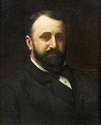 portrait d'homme by vlaho bukovac and jelica bukovac-radosavljevic