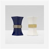 monumental vases (pair) by gabriella crespi