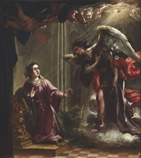 the annunciation by juan de valdés leal