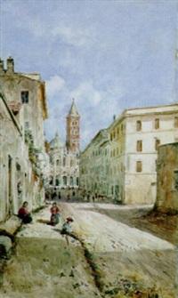 roma, via merulana a santa maria maggiore by daniele bucciarelli