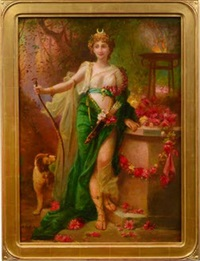 diana the huntress by hans zatzka