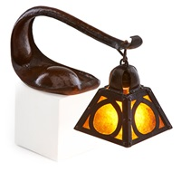 rare and early cobra lamp by dirk van erp