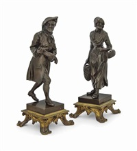 figures of street vendors (pair) by anonymous (19)