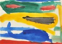 watercolor, original work by giorgio cavallon
