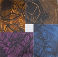 four color quartet by mel bochner