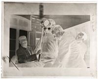 madrid preparativos del vuelo del coronel emilio herrera, 1935 by robert capa