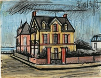 villas normandes by bernard buffet
