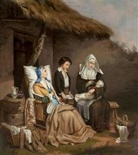 the newborn by john lewis krimmel