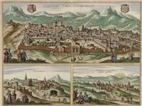jherusalem turcis cusembareich, nazareth, and ramma by d. olfert dapper
