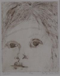 alison; les enfants del la lune (2 works) by betye saar