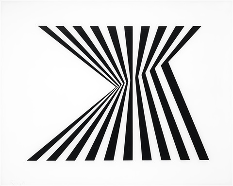 untitled schubert 5a by bridget riley