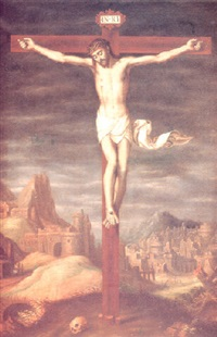 cristo crucificado by juan (fray) sanchez y cotan