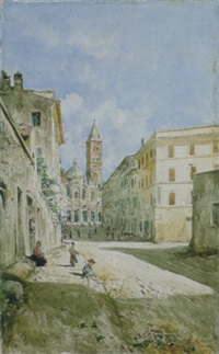 via merulana a s.maria maggiore by daniele bucciarelli