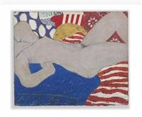 little great american nude #5 by tom wesselmann