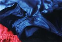 faltenwurf (blue shorts) ii by wolfgang tillmans