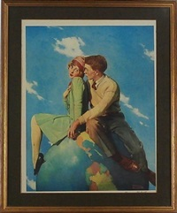 top of the world by norman rockwell