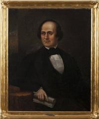 portrait of major-general aaron ward of sing sing, new york by john vanderlyn