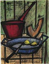 nature morte (still life) by bernard buffet