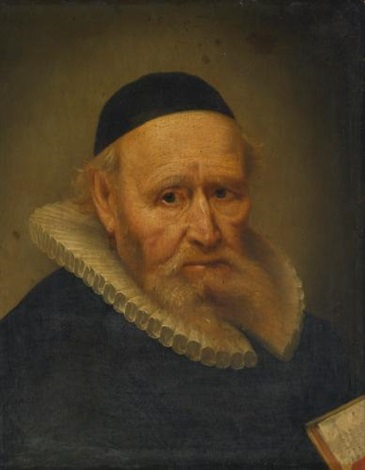 portrait of a cleric by rembrandt van rijn