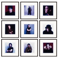 lou (lou reed portfolio) (cartella completa di 9) by timothy greenfield-sanders