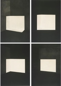 first light, series c (carn, acros, ondoe and phantom) (4 works) by james turrell