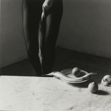 untitled from eel series by francesca woodman