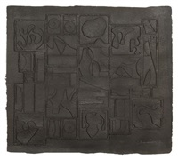 dawn scape by louise nevelson