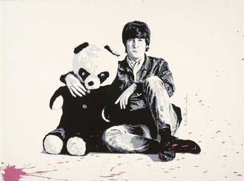 john lennon by mr brainwash