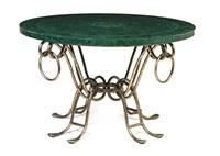 center table by rené drouet