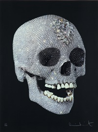 for the love of god, shine by damien hirst