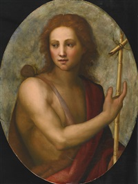 saint john the baptist by jacopo (da empoli) chimenti