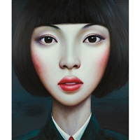 untitled (from beijing girl series) by zhang xiangming