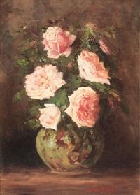 vas cu trandafiri by juan (alexandru paraschivescu) alpar