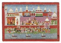 krishna leaving dwarka (bhagavata purana series) by anonymous-nepalese (18)