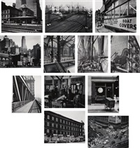 portfolio ii (12 works) by berenice abbott