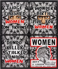 women (4 works) by gilbert and george