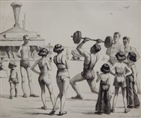 strength and beauty (mccarron 121) by martin lewis