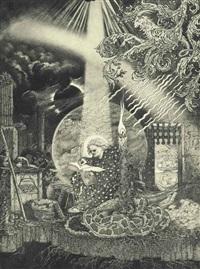 the apocalypse: ii: 1-7 by sidney h. sime