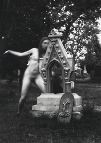 untitled, boulder, colorado (graveyard) by francesca woodman