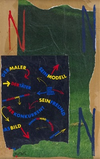 der maler by mimmo rotella