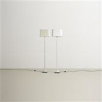 floor lamps (pair) by kpm - königliche porzellan-manufaktur (co.)