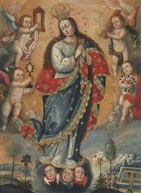 immaculate conception by peruvian school-cuzco