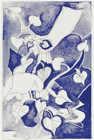 les paroles transparents portfolio w4 works and untitled suite of 4 works by georges braque