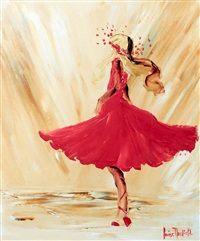 dance in red by louise mansfield