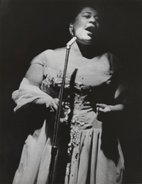 ella fitzgerald by lisette model