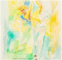 jack nicklaus, westchester country club by leroy neiman