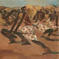 danseurs africains by paul daxhelet