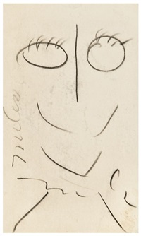 self-portrait by miles davis
